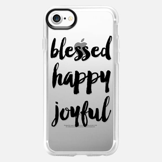 blessed and happy - Wallet Case