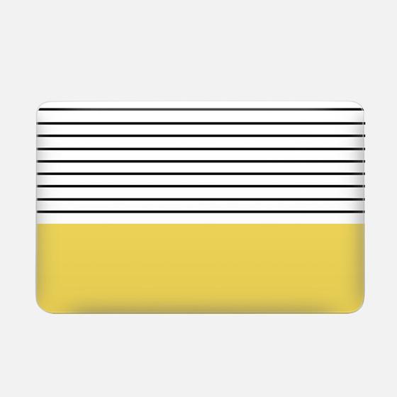Minimal stripes - chartreuse
