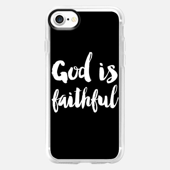 God is faithful - Wallet Case