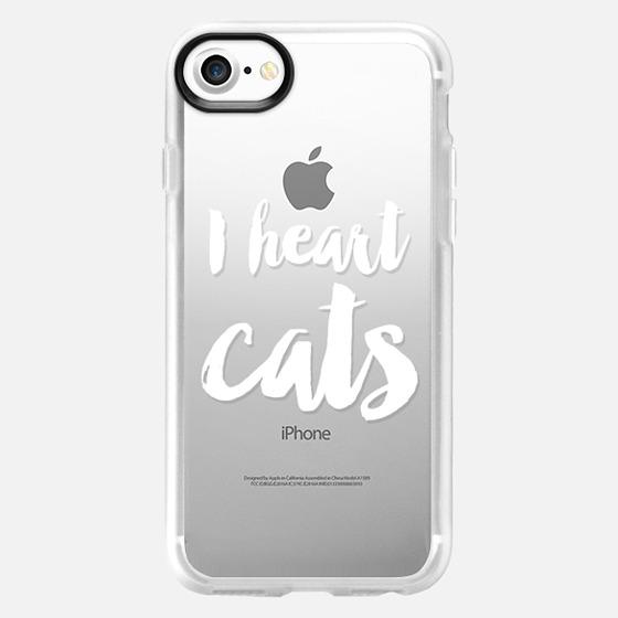 I heart cats - Wallet Case