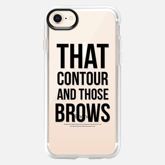 that contour and those brows - Snap Case