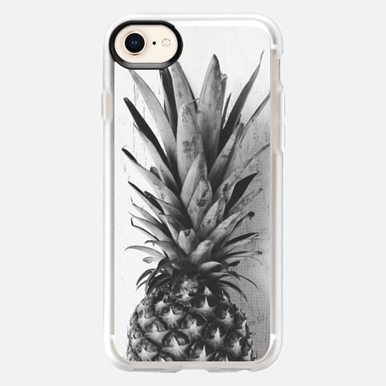 Black and white pineapple - Snap Case
