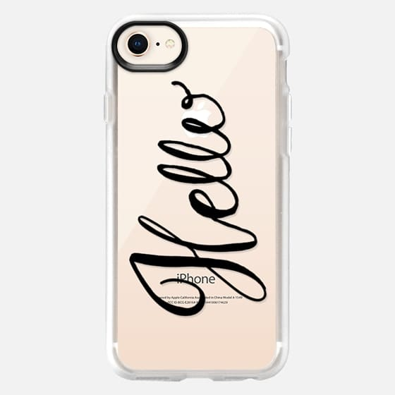 Hello Hand lettering - Snap Case