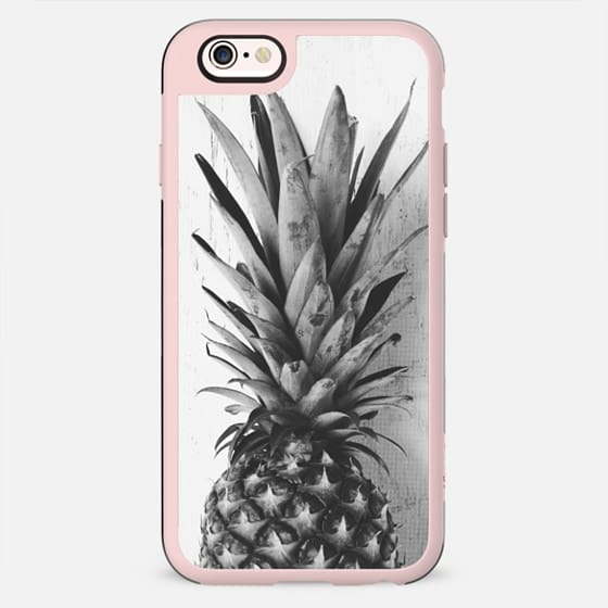 Black and white pineapple - New Standard Case