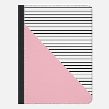 "iPad Pro 9.7"" Case Pink and stripes"