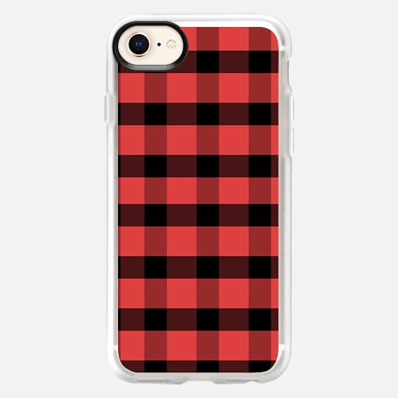 Red Flannel - Snap Case