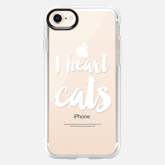I heart cats - Snap Case