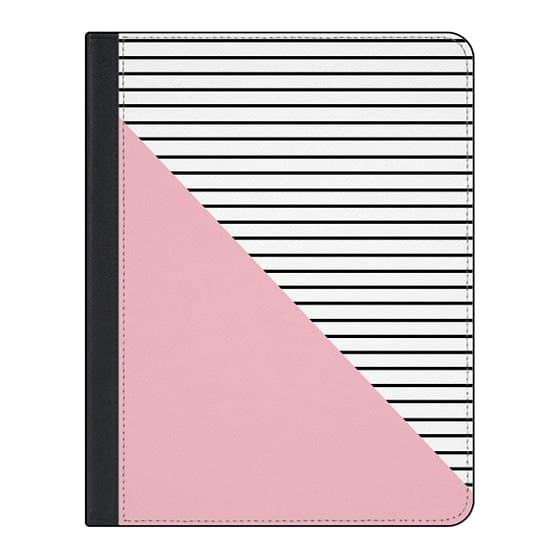 11-inch iPad Pro Covers - Pink and stripes
