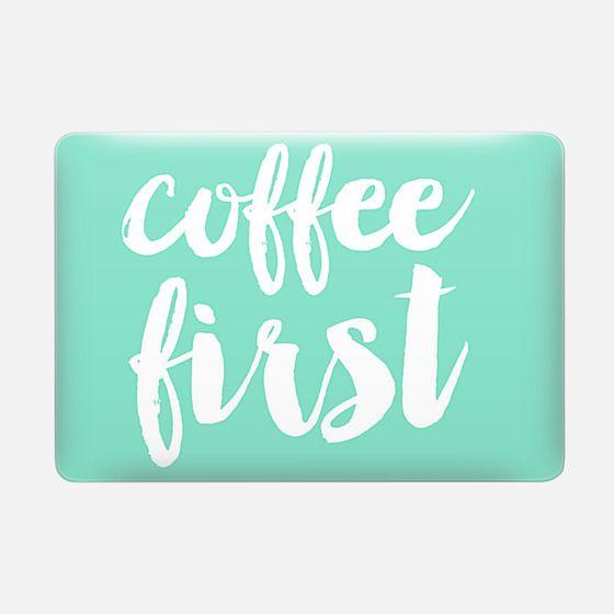 coffee first - mint -