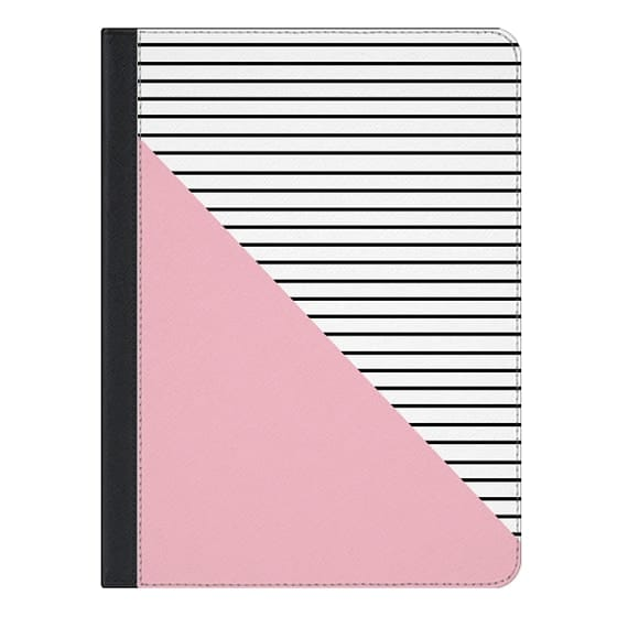 9.7-inch iPad Pro Covers - Pink and stripes
