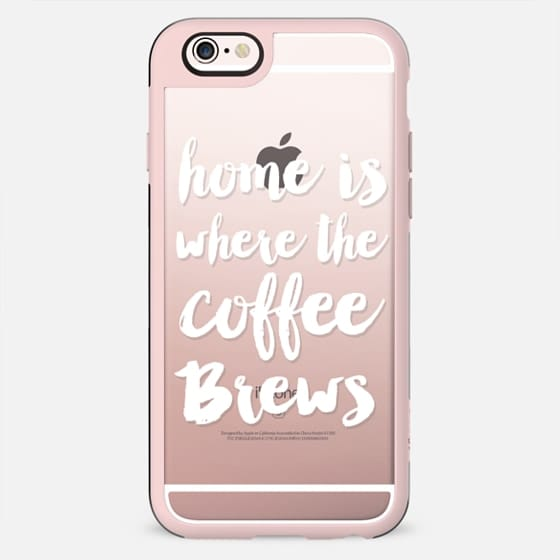 Home is where the coffee brews - New Standard Case