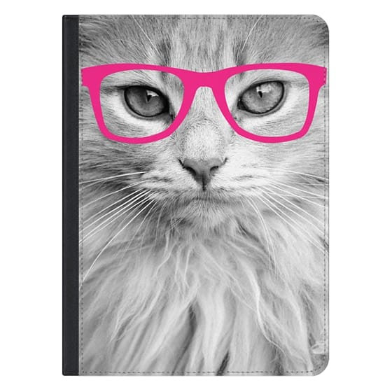 12.9-inch iPad Pro Covers - Hippest Cat Pink