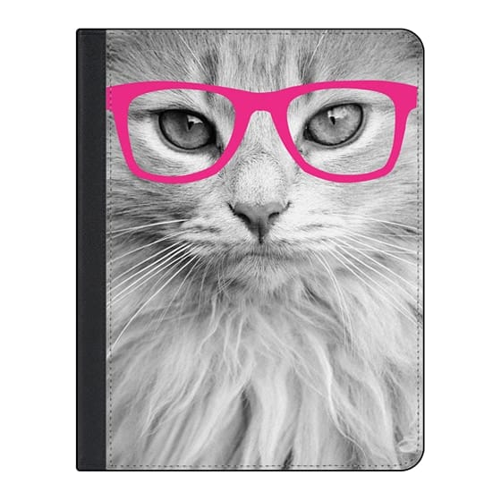 11-inch iPad Pro Covers - Hippest Cat Pink
