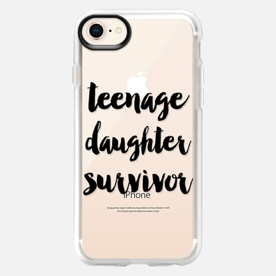 Teenage Daughter Survivor - Snap Case