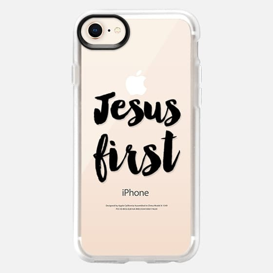 Jesus first - Snap Case