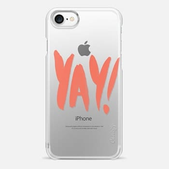 iPhone 7 Case YAY! Coral
