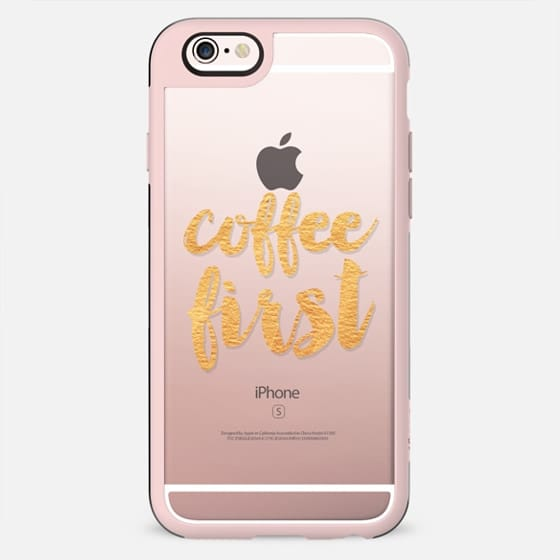 Coffee First Gold - New Standard Case