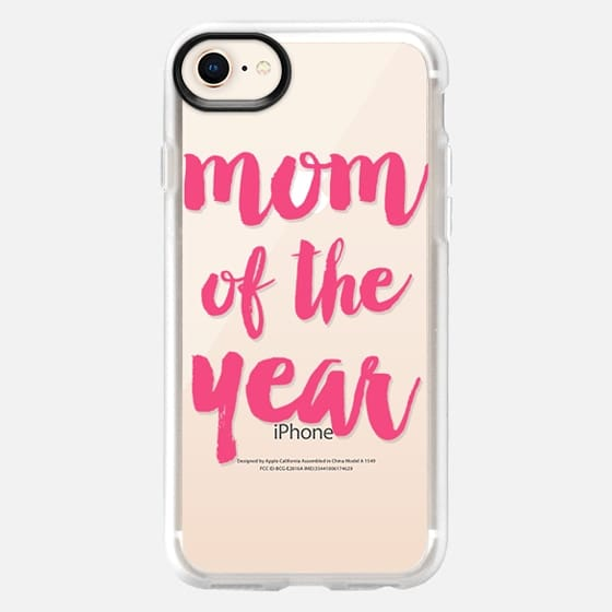 Pink mom of the year - Snap Case