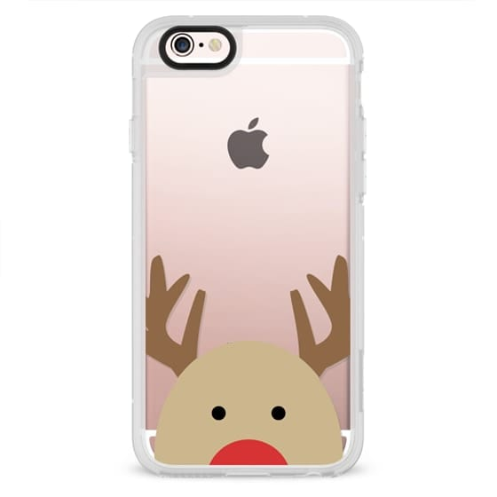 iPhone 6s Cases - Red Nose Reindeer