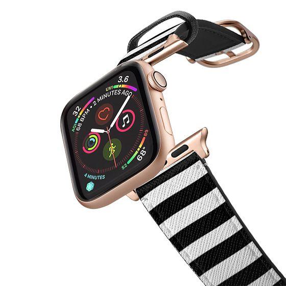 Apple Watch 42mm Bands - Black Stripes