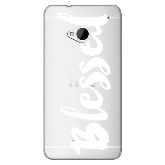 Htc One Cases - Bold Blessed White