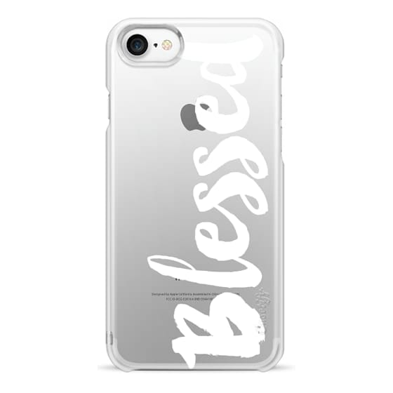 iPhone 7 Cases - Bold Blessed White