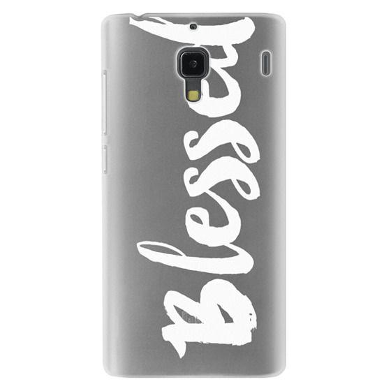 Redmi 1s Cases - Bold Blessed White