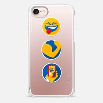 iPhone 7 Case Gym Pepsimoji Trio