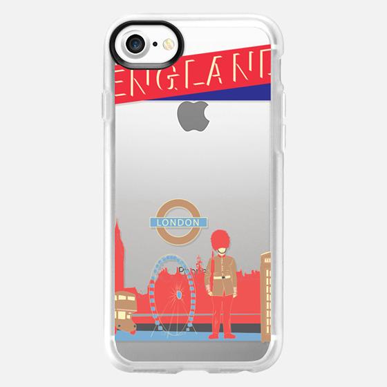 London England - Wallet Case
