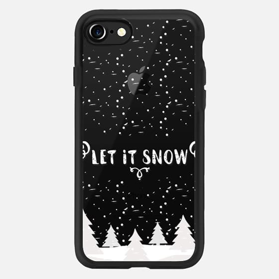 Let it snow white christmas -