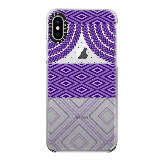 iPhone 7 Plus Cases - ULTRAVIOLET SUBTLE PATTERNS