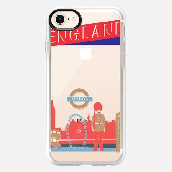 London England - Snap Case