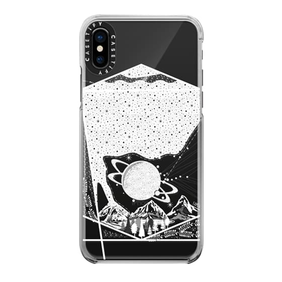 iPhone X Cases - Universe on the earth