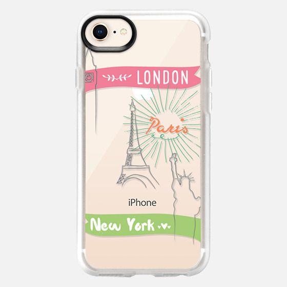 London Paris New York - Snap Case