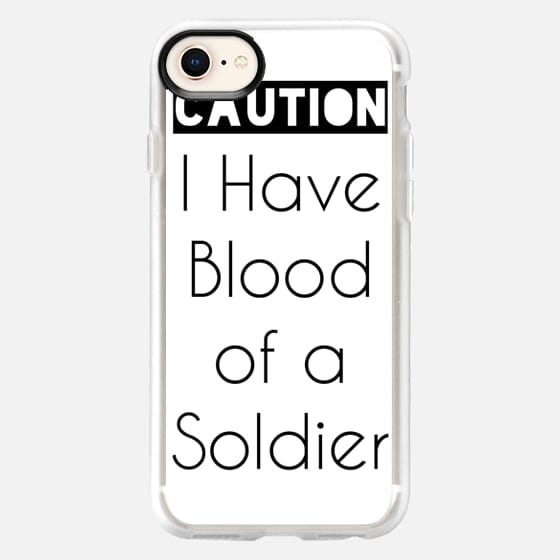 Soldier's Blood - Snap Case