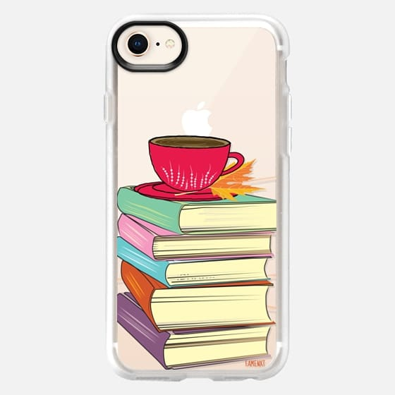 Books and Tea with Leaf - Snap Case