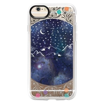 Grip iPhone 6 Case - Beautiful starry night