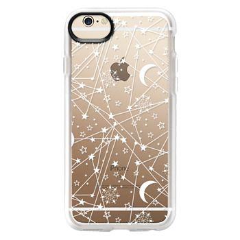 Grip iPhone 6 Case - Sun moon stars white galaxy
