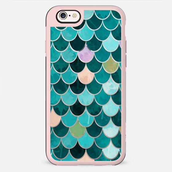 Mermaid turquoise teal - New Standard Case