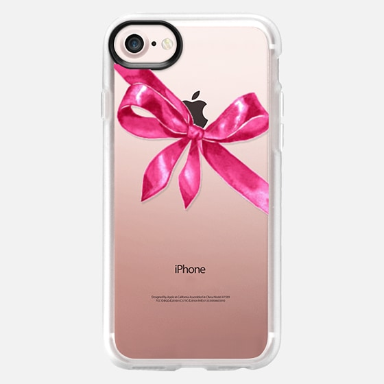 PINK RIBBON BOW #2 - Classic Grip Case