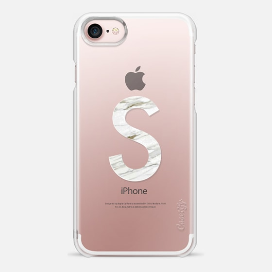 MARBLE INITIAL - S - Snap Case