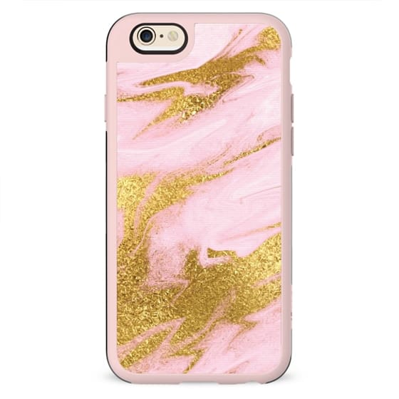 PINK & GOLD MARBLE #2