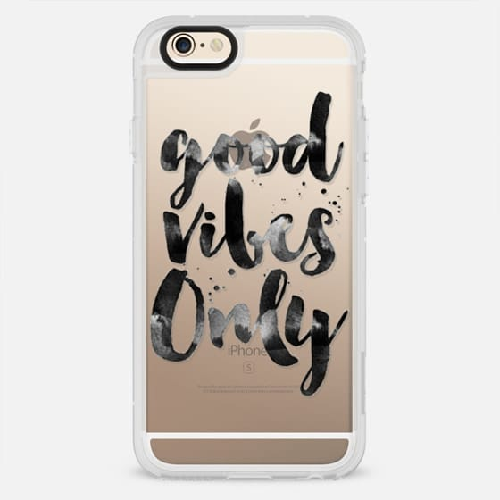 GOOD VIBES ONLY - QUOTES - New Standard Case