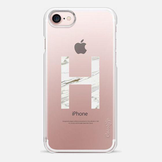 iphone 7 initial case rose