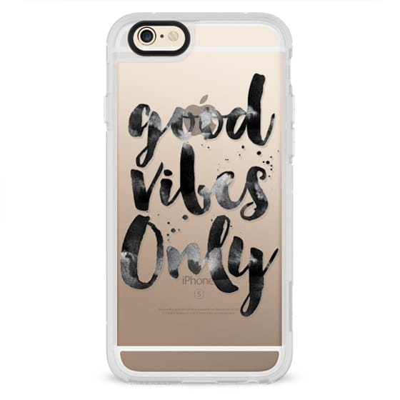 GOOD VIBES ONLY - QUOTES