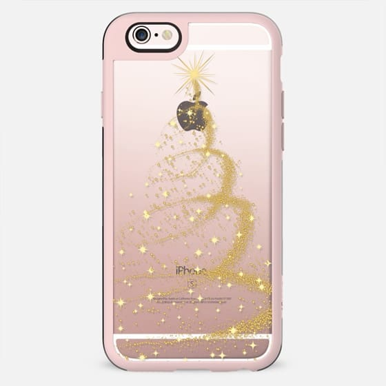 GOLD CHRISTMAS TREE - New Standard Case