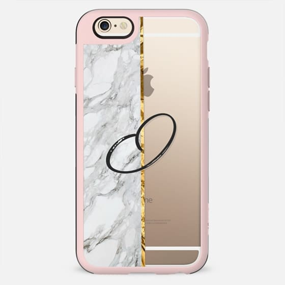 GOLD MARBLE INITIAL | O - New Standard Case