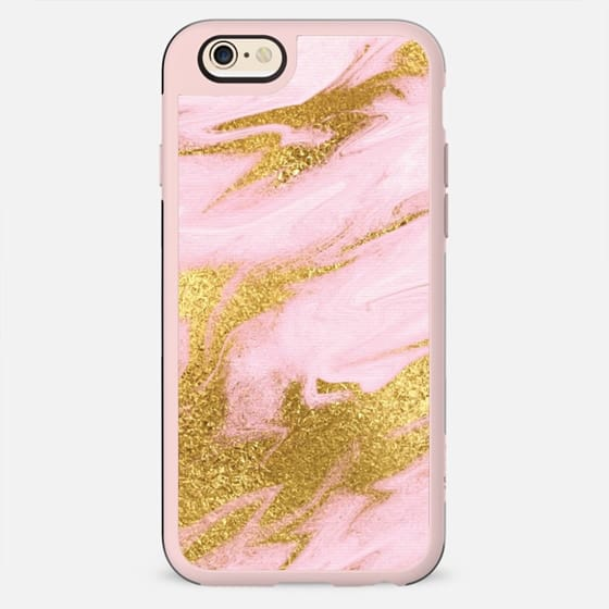 PINK & GOLD MARBLE #2 - New Standard Case
