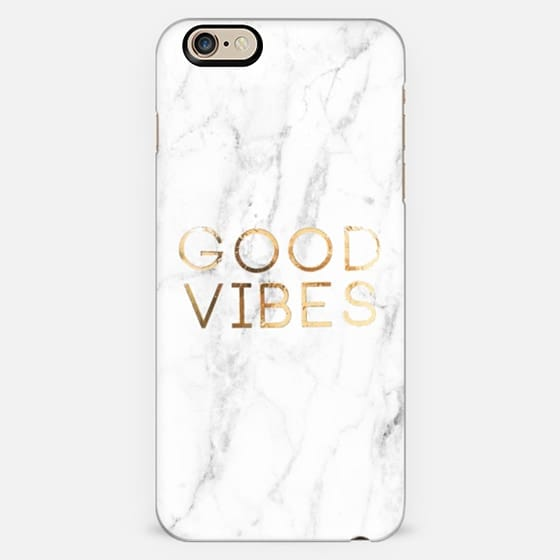 WHITE MARBLE GOOD VIBES -