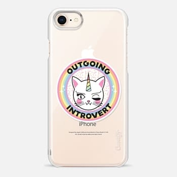 iPhone 8 Case Outgoing Introvert